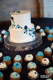 simple blue wedding cake. Exellent Wedding Wedding Cake Modern Fondant Simple Elegant White Blue Flowers With Simple Blue Wedding Cake I