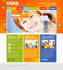 Kids School Website Template Kids Center Website Template 35142