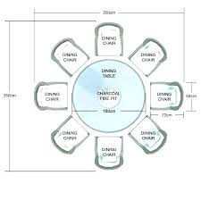 round table size for 8 dimensions seating plan wedding ideas banquet