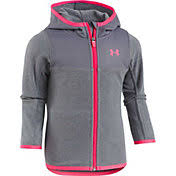 under armour jackets for girls. product image · under armour girls\u0027 cozy full zip hooded fleece jacket jackets for girls r