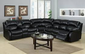 City Furniture Leather Reclining Sofa