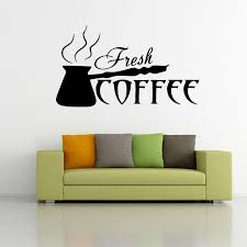 making coffee wall art mural poster fresh coffee wall decal sticker kitchen room restaurant dining room artistic decoration wall tattoo on artistic wall decal with making coffee wall art mural poster fresh coffee wall decal sticker
