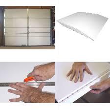 details about garage door insulation kit 8 pieces moisture resistant polystyrene plastic foam
