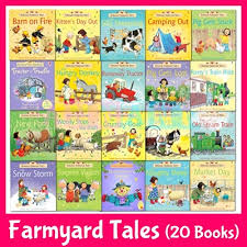 20 books original usborne english phonics farmyard tales first experiences story books young reader