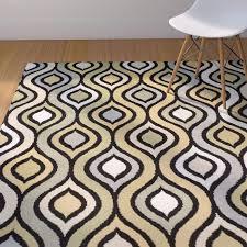 area rugs keenan synthetic gray yellow green area rug