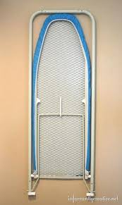 in the wall ironing board