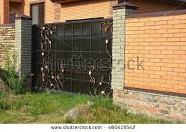 Small Picture Brick Fence Stock Images Royalty Free Images Vectors Shutterstock