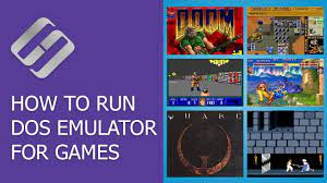 how to run dos emulator for games like