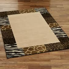 Safari Decor For Living Room Safari Area Rug Rectangle Design With Nice Combination Animal Skin