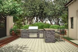 Eldorado Outdoor Kitchen Metropolitan Signature Kitchen Eldorado Stone