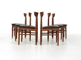 mid century danish dining chairs from skovby møbelfabrik set of 6