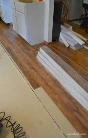 Flooring In Kitchen Kitchen Makeover Laminate Flooring My Creative Days