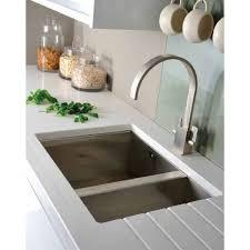 stainless steel undermount sink. Abode Matrix R0 1.5 Bowl Undermount Stainless Steel Right Hand Large AW5010 Sink M