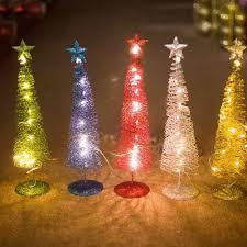 Desktop Christmas Lights Artificial Christmas Tree Led Light Up Xmas Desktop Ornament Xmas Tree Lights Christmas Decoration Xmas Tree Arbol De Navidad