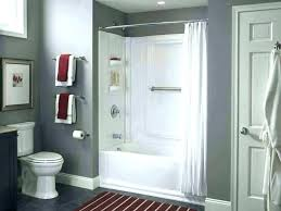 stand up shower kits bathroom inserts image of tub showers bath replacing showe