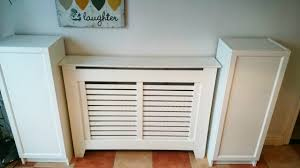 Ikea Hack For Built In Dining Room Storagewhen You Have To Work Within Radiator  Covers And