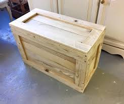 hand made untreated reclaimed wooden blanket box 50 free delivery