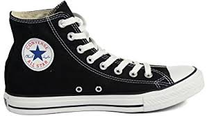 converse all star high tops. converse unisex chuck taylor all star high top sneakers black/white, us men\u0027s 7 tops e