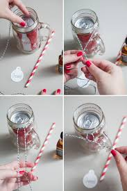 diy cocktail mason jar gift
