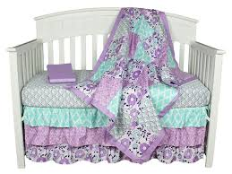 baby sheet sets the peanut shell bedding sets purple baby bedding zoe 4 in 1 crib