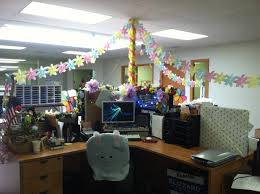 office decorating ideas pinterest. Decorating Office. Our Cubicles For Spring Crafty Stuff Pinterest Office Ideas S