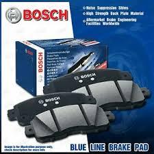 4 pcs Bosch <b>Blue line</b> Front Brake Pads for <b>Mazda</b> 3 BK BK3P BK3S ...