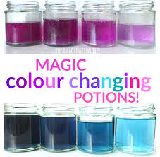 Bicarbonate Indicator Colour Chart Magic Colour Changing Potions Science Activity The