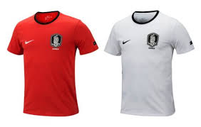 Nike T Shirt Size Chart Uk Nike Korea Crest Tee 888345 100 Soccer Football T Shirt