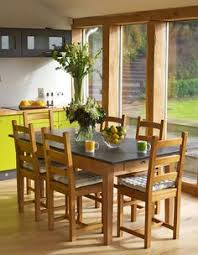 slate top farmhouse dining tables uk handmade farm table in antique contemporary painted ideal in a conservatory or dining room heat resitant and durable