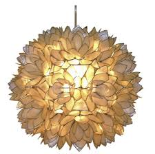 how to make a diy hanging capiz shell pendant chandelier throughout capiz shell pendant light