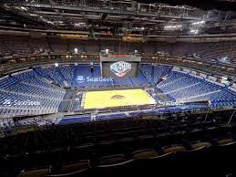 Pelicans Seating Chart Smoothie King Center Section 332 Seat Views Seatgeek