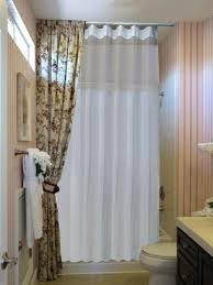 gallery pictures for extra wide shower curtain in bathroom traditional with l shaped angle shower curtain rod