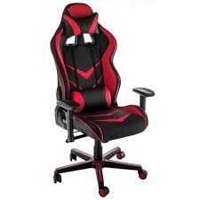 Офисное <b>кресло Racer</b> черно-красного цвета — купить по цене ...