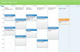 weekly schedule example calendar plan examples and templates