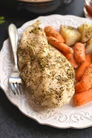 4 (1 reviews) steak and mushroom soup. Crockpot Italian Chicken Potatoes Gf Paleo Skinny Fitalicious