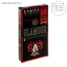 презервативы Domino Glamour Moscow тату 3 шт 1002174 купить