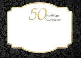 50th birthday invitation templates free free printable 50th birthday invitations template free printable