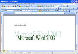 micresoft word how to use microsoft word 2003 version controls