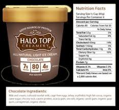 dairy flavors halo top protein ice creamlow