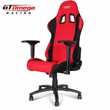 red office chairs. GT Omega PRO Racing Office Chair Red And Black Fabric Chairs I