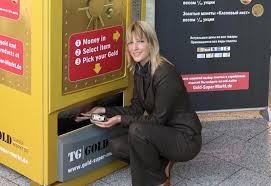 Gold To Go Vending Machine Inspiration First Ever Gold Bar Vending Machine For UAE Hotel