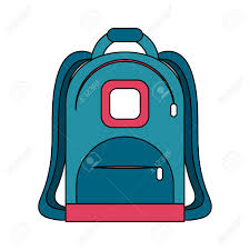 Backpack Graphic Design School Backpack Isolated Icon Vector Illustration Graphic Design
