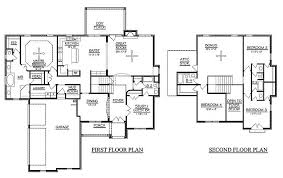 ... Extremely Inspiration 4 Bedroom Floor Plans 2 Story 1 On Modern Decor  Ideas