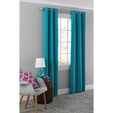 kitchen curtains at sears cafe curtains pottery barn metallic blue top grommet curtains silver