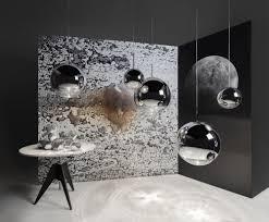 mirror ball pendant light copper small by tom dixon