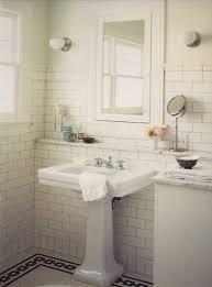 bathroom vanities godmorgon sink pplump classic bath with pedestal sink built in medicine cabinet subway tiles