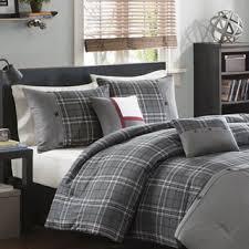 grey plaid comforter. Simple Comforter Shop Intelligent Design Campbell Grey Plaid 5Piece Comforter Set  Free  Shipping Today Overstockcom 9239943 On