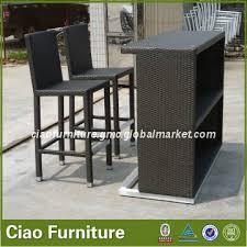 outdoor rattan wicker furniture bar setlike