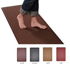 Kitchen Comfort Floor Mats Kitchen Anti Fatigue Kitchen Mat Throughout Splendid Chef Gear