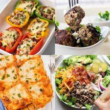It is naturally low in fat, a bunch of folic acid, and is a good source of vitamins! 10 Low Carb Ground Beef Recipes Diabetes Strong